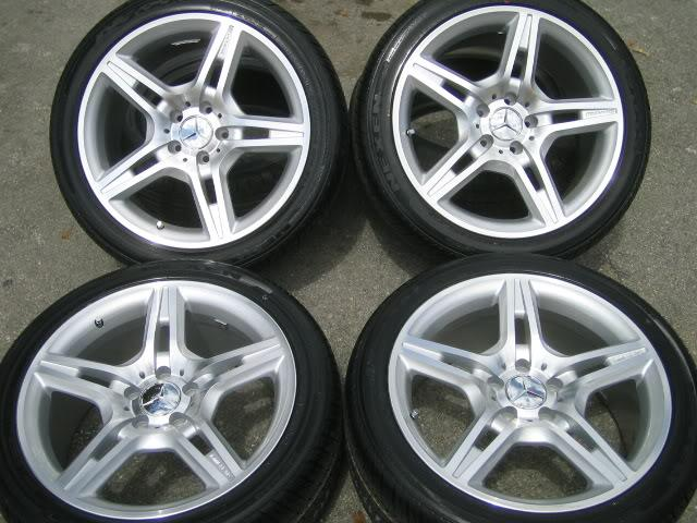 Mercedes benz amg sport 18 18 wheels rims c e clk s 65 55 for Mercedes benz amg rims for sale