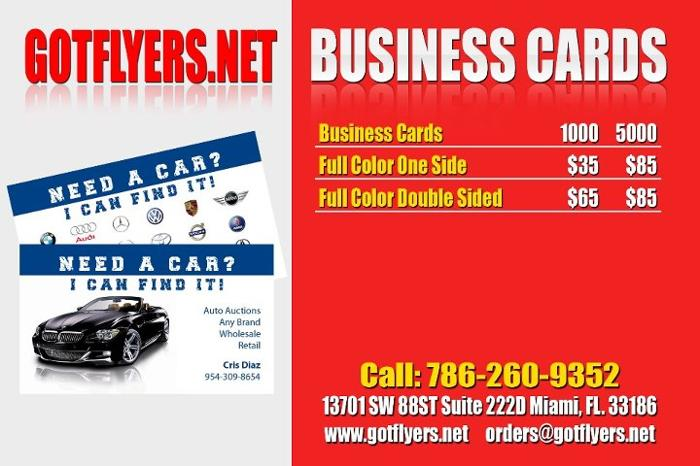 Miami Gardens Wholesale Full Color Printing 1000 8.5x11 Tri Fold Brochures For $250