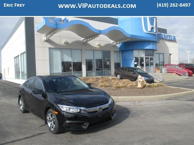 New 2016 Honda Civic LX in Monroe MI