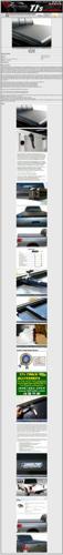 New Tonno Pro Hard Fold Tonneau Cover Free shipping