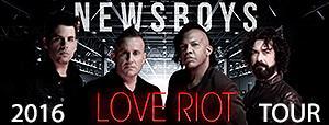 Newsboys Tickets Lancaster Concert 2016 Love Riot Tour Freedom Hall