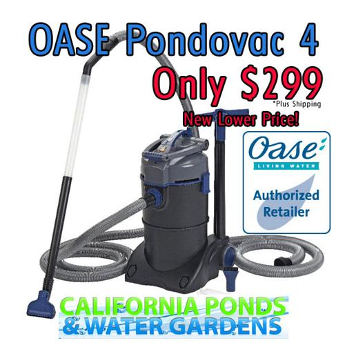 Oase pondovac 4 pond supplies lowest price for sale in for Pond stuff for sale
