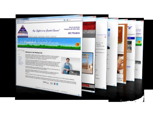 Professional website services