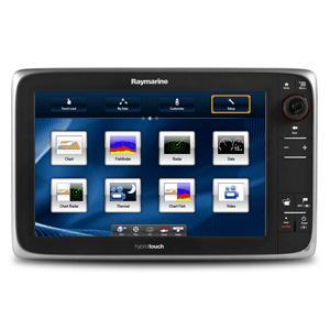 Raymarine e127 Multifunction Display w/Sonar - US Coastal Charts (T.