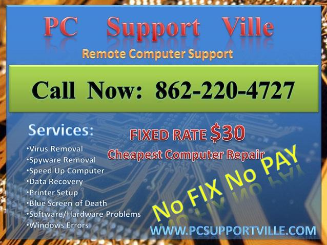 ?? Remote Computer Repair, $30 Only! No Fix No Pay!