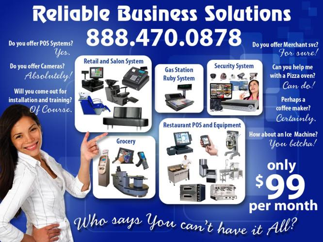 Restaurant Equipment POS System Ice Machine Deli Display CCTV Cameras, Espresso Machine
