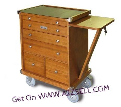 Roller Tool Box For Tradesman Artists and Mechanics