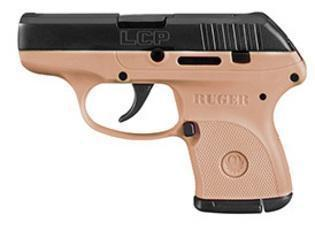 Ruger LCP in Flat Dark Earth .380