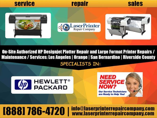 SANTA FE SPRINGS ?CA HP Designjet Plotter 500 ; 800 Repair <<<< Services