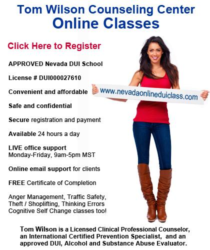 Silver Springs, Nevada DUI? Online DMV Approved DUI Alcohol School for Court