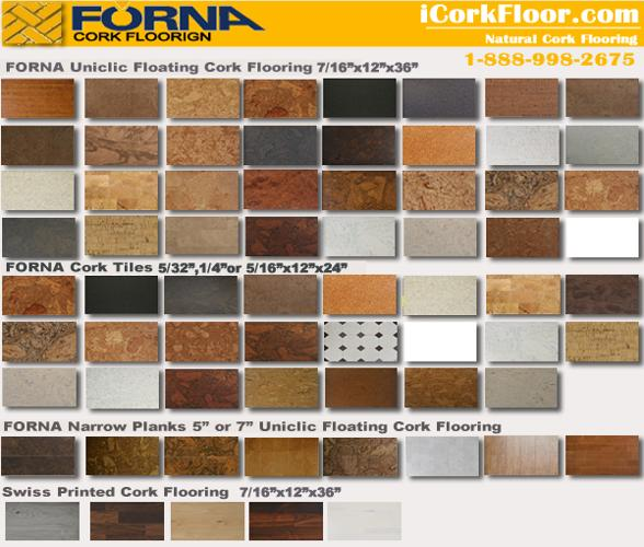 Soundproofing insulation 8mm cork Tile 12X24