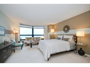 Studio Unbeatable Lakefront/City Views from this Downtown Luxury Studio!