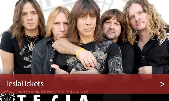 Tesla West Wendover Tickets Concert - Peppermill Concert Hall, NV
