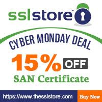 TheSSLStore Cyber Monday Discount Deal on Symantec & GeoTrust SAN SSL Certificates