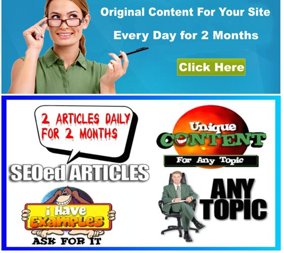 ???Unique Content For Your Wordpress Blog Every Day for 2 Months only $5 ???.. 4