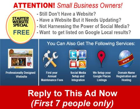Want a website but you are broke? Ill build you one for free