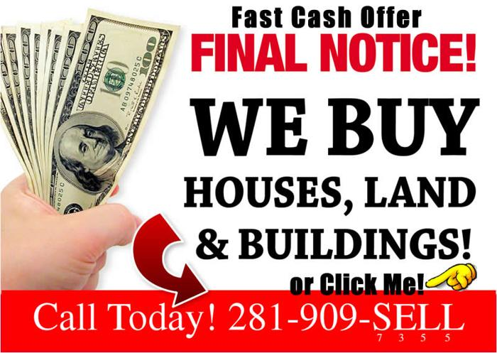 We Buy Houses Cash | Sell Us Your House