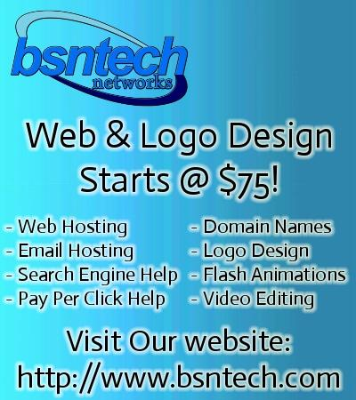 Website Design - Just $75 ++ Logos & Other Services