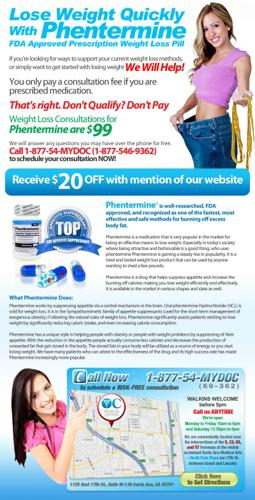 Why wait to lose weight? Do it the easy way with FDA approved Phentermine.!!