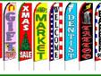 The Flag Site THE LARGEST SELECTION OF SWOOPER FLAGS ! We offer Great Deals on all types of FLAG related products, Stock and Custom made. Call toll free 1-877-612-3181 7 days a week in USA This is NOT the website CLICK HERE to enter and see all our