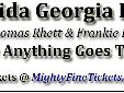 Florida Georgia Line Anything Goes Tour Concert in Biloxi FGL Concert Tickets for Mississippi Coast Coliseum in Biloxi on January 22, 2015 Florida Georgia Line is scheduled to arrive for a concert in Biloxi, Mississippi on the FGL 2015 Anything Goes Tour.